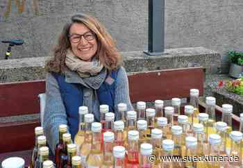 Markdorf: Judith Lehle bietet auf dem Wochenmarkt jetzt auch Rosmarin-Sirup an - SÜDKURIER Online