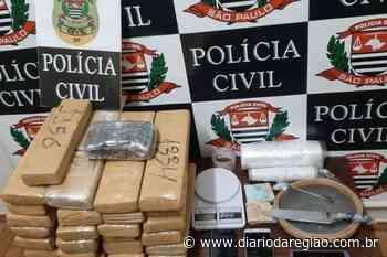 Trio é preso com 33 kg de maconha em Votuporanga - Diário da Região