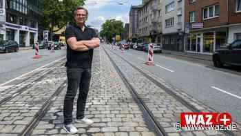 Bochum: Unternehmer beklagt Bauarbeiten an Hattinger Straße - WAZ News