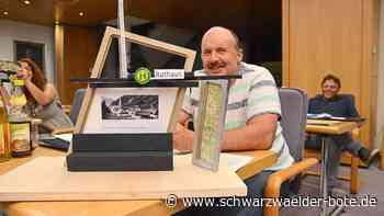 Lauterbach - Reminiszenz an die Goldleistenfabrik - Schwarzwälder Bote