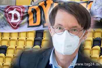 Fußball mit Publikum in Sachsen? Gesundheitsexperte Karl Lauterbach warnt! - TAG24