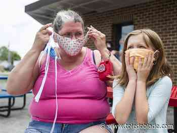 Wood County residents must wear masks outdoors, says DeWine