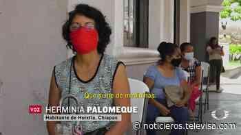Gobierno de Huixtla costea atención de personas con síntomas de COVID-19 - Noticieros Televisa