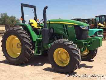 Kawartha Lakes OPP searching for stolen tractor - PTBO Today
