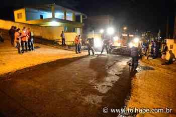 Prefeitura de Camaragibe inicia o recapeamento das ruas Benjamin Constant e Candeias - Folha de Pernambuco