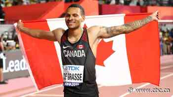 Andre De Grasse victorious in return to track at Inspiration Games
