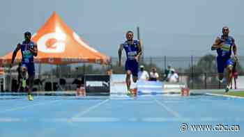 Andre De Grasse victorious in return to track at 'remote' competition