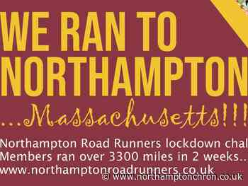 Northampton running group run to namesake in America clocking up more than 3,000 miles - Northampton Chronicle and Echo