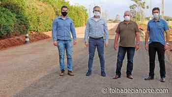 Trecho da Estrada Rodeio recebe obras de pavimentação - Folha De Cianorte
