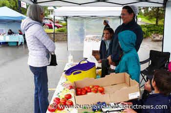Burns Lake Community Market's 2020 opening day, a roaring success - Burns Lake District News