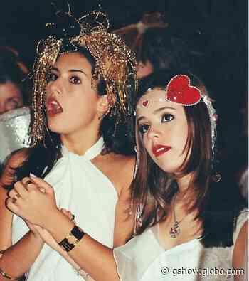 Fernanda Paes Leme e Sandy aparecem em foto antiga e muito fofa de #tbt - gshow