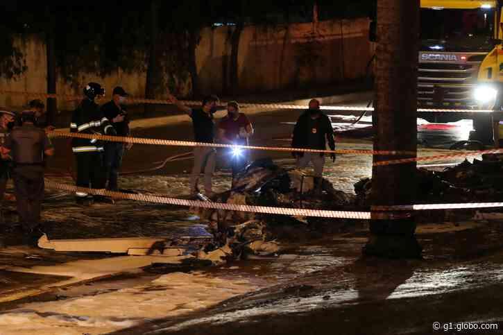 Pai de piloto morto na Avenida Braz Leme diz que reconheceu avião quando viu acidente; via permanece interditada - G1