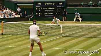 A Titannic Clash In Novak Djokovic & Rafael Nadal's Record Rivalry - ATP Tour