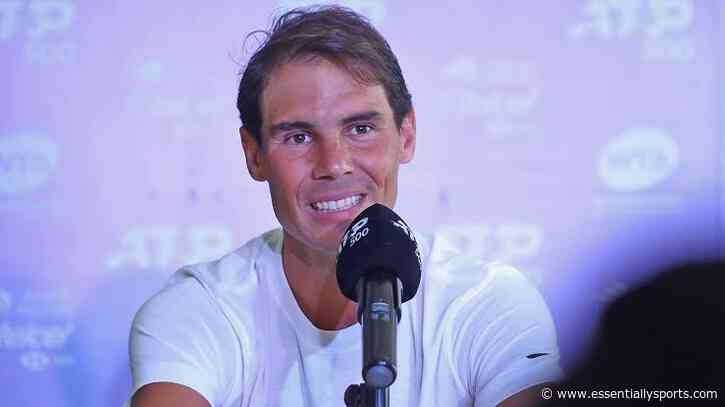 """""""I Feel Myself Falling Down and Just Screaming"""" – Rafael Nadal Recalls the Most Historic Moment of His Career - Essentially Sports"""