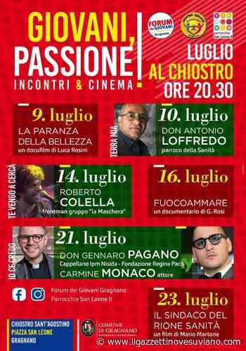 """A Gragnano l'iniziativa """"Giovani, Passione!"""": la Parrocchia contro la criminalità - Il Gazzettino Vesuviano"""