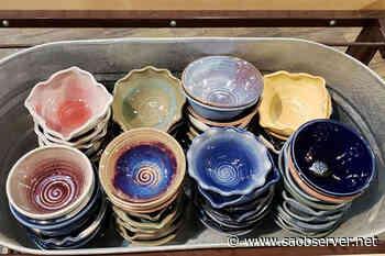 Shuswap potter's empty bowls help fill food bank - Salmon Arm Observer