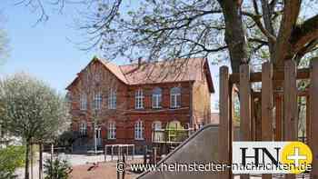 Rotes Gebäude ausschließlich für Ludgeri-Schule in Helmstedt - Helmstedter Nachrichten