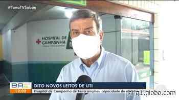 Hospital de campanha de Feira de Santana abre leitos de UTI; coordenadora crê que cidade atingiu pico da doença - G1
