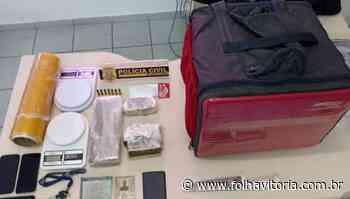 Dupla que fazia 'delivery' de drogas em Vila Velha - Folha Vitória