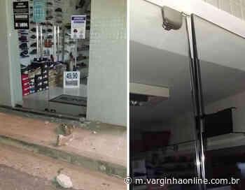 Homem é preso em flagrante tentando arrombar loja em Varginha - Varginha Online
