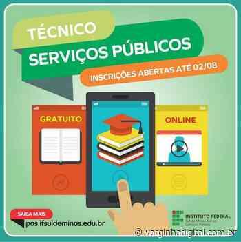 IFSULDEMINAS oferece curso gratuito de Técnico em Serviços Públicos EAD para Varginha e região - Varginha Digital