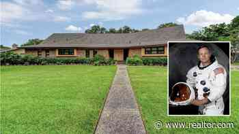 Blast From the Past: Neil Armstrong's Former Texas Home on the Market - Realtor.com News