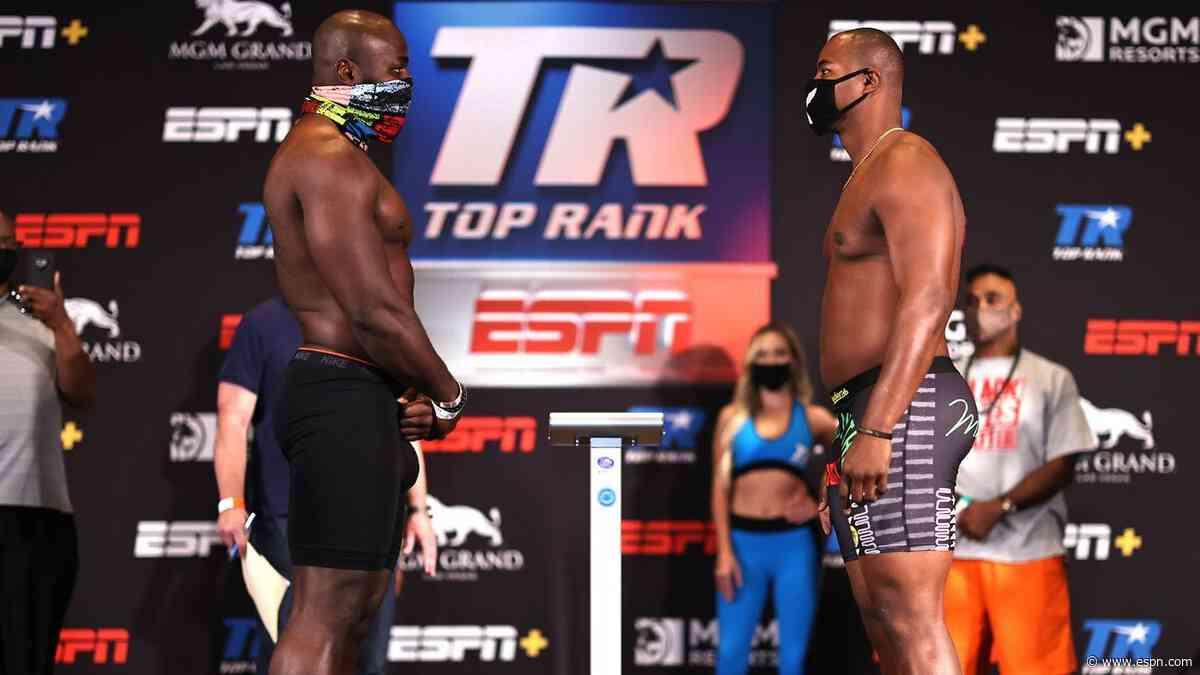 Carlos Takam-Jerry Forrest live results and analysis