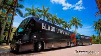 Raptors arrive at Disney campus in BLM buses, teams begin restart routines
