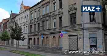 Wittenberge: Häuserzeile in der Goethestraße wird saniert - Märkische Allgemeine Zeitung