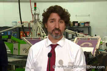 "Trudeau: Not the time for ""tightening the belt"" - My Timmins Now"