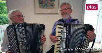 Die Schmitts sind Ehrenmitglieder der Akkordeon Vereinigung Pfungstadt - Echo Online