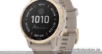 Garmin bringt weitere Smartwatches mit Solar-Technologie - Onlinekosten.de