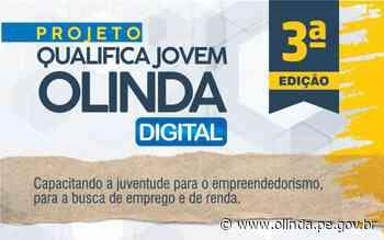 Qualifica Jovem Olinda garante capacitação de forma digital - Prefeitura de Olinda