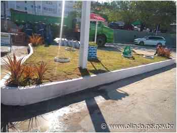 Em Olinda, 34 pontos críticos de lixo já foram transformados em jardins e espaços de convivência - Prefeitura de Olinda