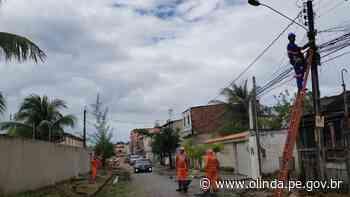 Mutirão de manutenção aporta no bairro de Jardim Brasil, em Olinda - Prefeitura de Olinda