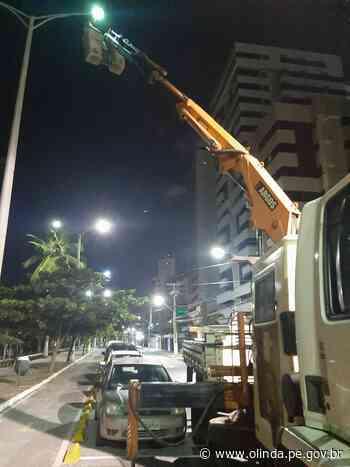 Olinda realiza serviços de manutenção em ruas, avenidas e praças da cidade - Prefeitura de Olinda