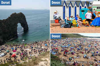 UK's holiday hotspots such as Devon, Cornwall and Dorset will be hardest hit by coronavirus second wave, s - The Sun