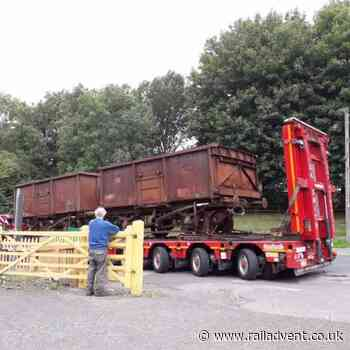 Somerset and Dorset Joint Railway purchase mineral wagons - RailAdvent - Railway News