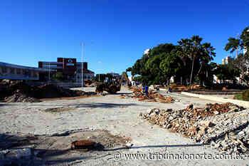 Obras em praças do Centro Histórico de Natal são retomadas - Tribuna do Norte - Natal