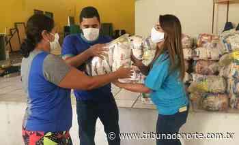 Pescadores afetados pela pandemia em Natal recebem cestas básicas - Tribuna do Norte - Natal