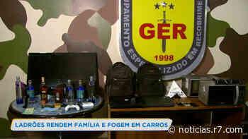 Criminosos invadem casa e assustam família em Contagem (MG) - HORA 7