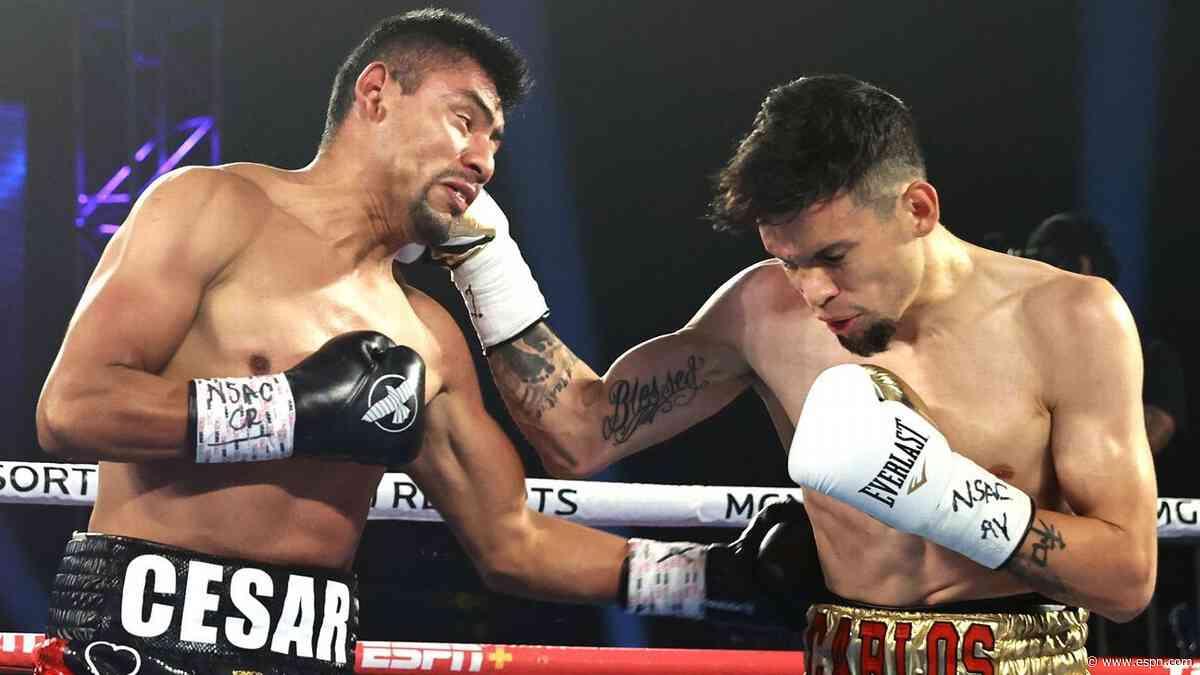 Carlos Castro dominates Cesar Juarez, wants title shot at 122