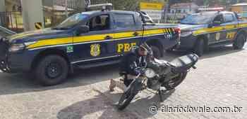 Jovem é apreendido com motocicleta adulterada em Vassouras - Diario do Vale