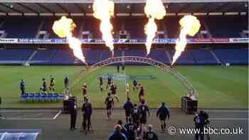 Edinburgh v Glasgow 'pilot' event with fans proposed by Scottish Rugby - BBC Sport