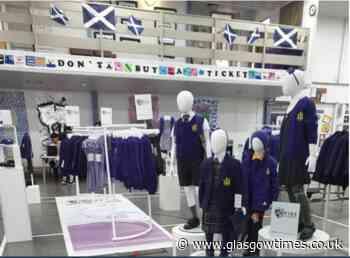 School uniform pop-up shops introduced across Glasgow - Glasgow Times