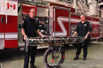 Vernon firefighters showcase new rescue equipment – Vernon Morning Star - Vernon Morning Star
