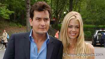 How Denise Richards co-parents with Charlie Sheen - Nicki Swift