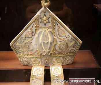 La mitra de Jacinto Argaya en el museo catedralicio de Mondoñedo - Religión Digital