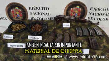 Operativo contra el Clan del Golfo en Ituango, Antioquia - Minuto30.com