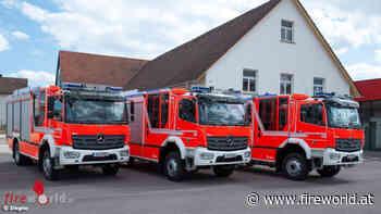 D: Drei baugleiche Ziegler HLF 20 für die Gemeinde Planegg - Fireworld.at